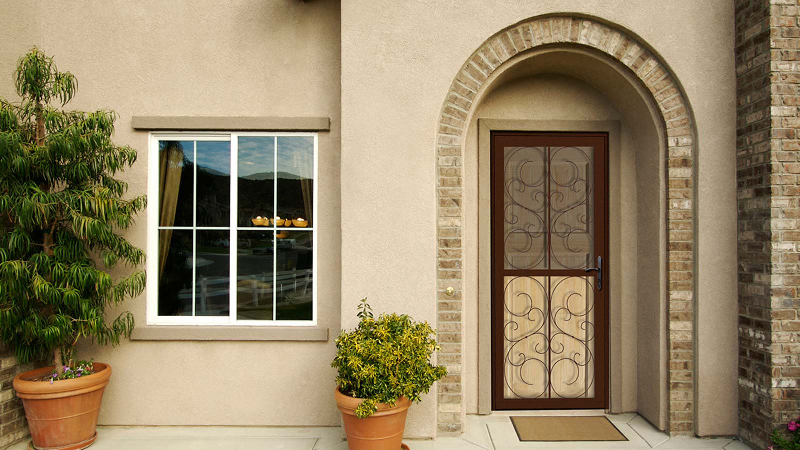 Unique Home Designs Security Doors Screen Doors And Window
