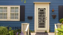 Unique Home Design Security Doors Screen And