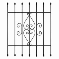 Vertical Window Guards | Unique Home Designs