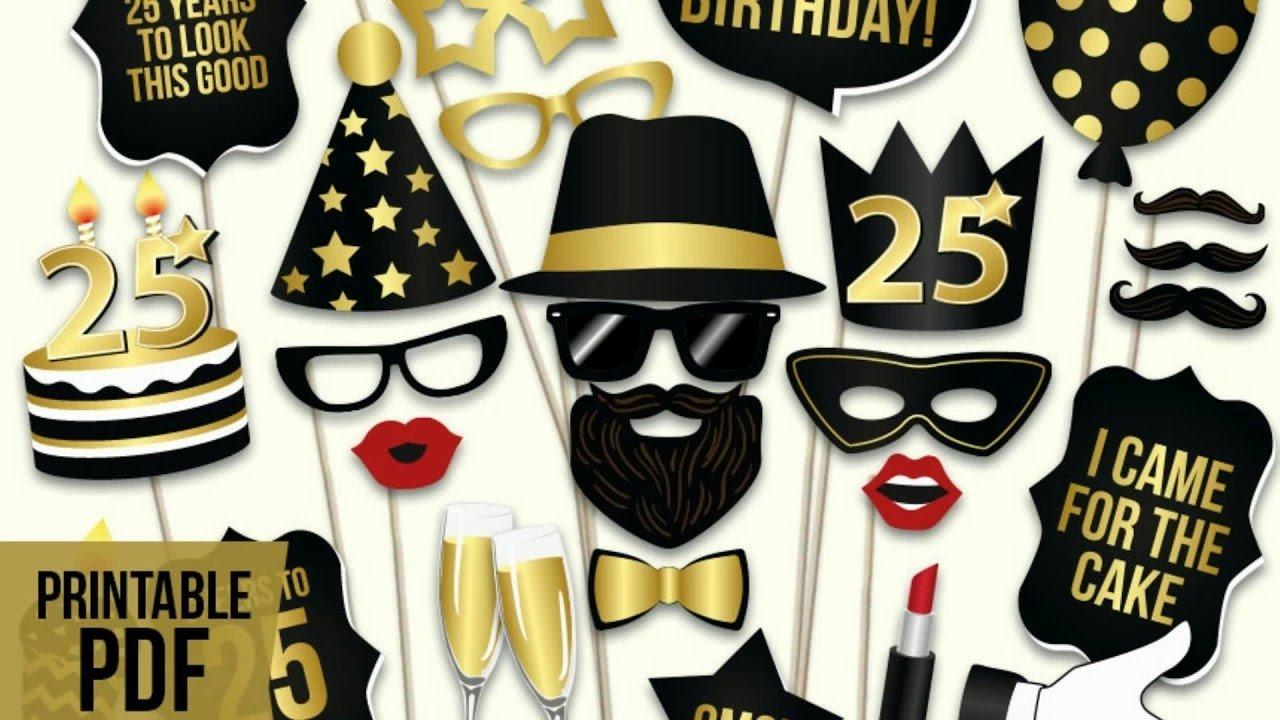 10 Stylish 25th Birthday Party Ideas For Him 2019