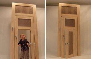 ユニバーサルデザインの極み!なドア