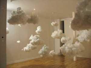 かなりリアルな雲のオブジェ