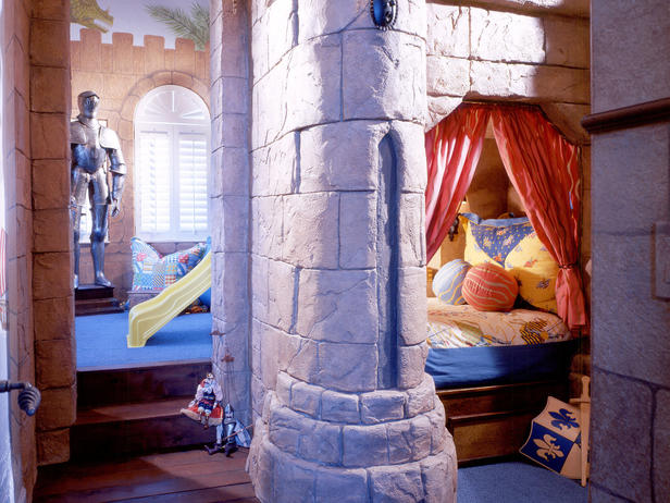 中世ヨーロッパ風の子供部屋