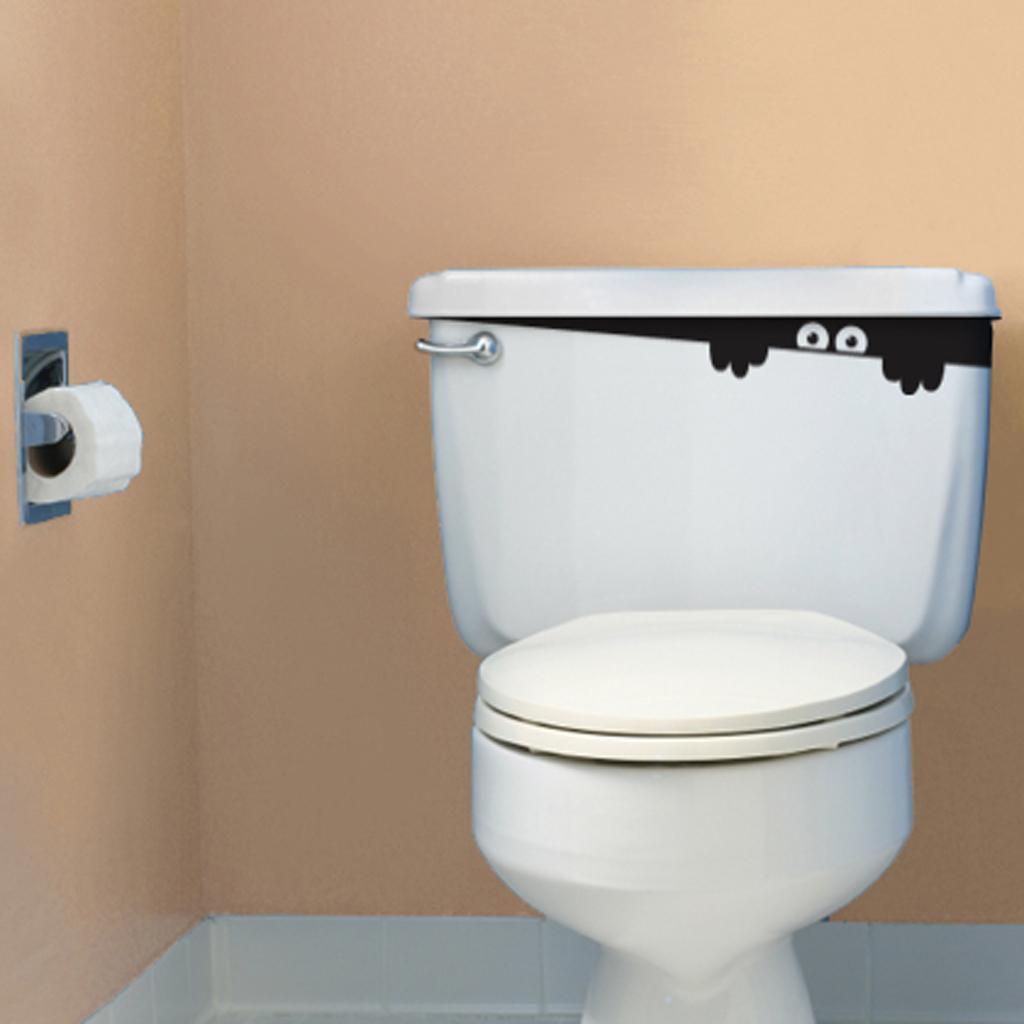 かわいらしいお化けが住むトイレ
