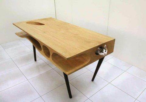 愛猫家は必ず欲しがる!猫も嬉しいテーブル