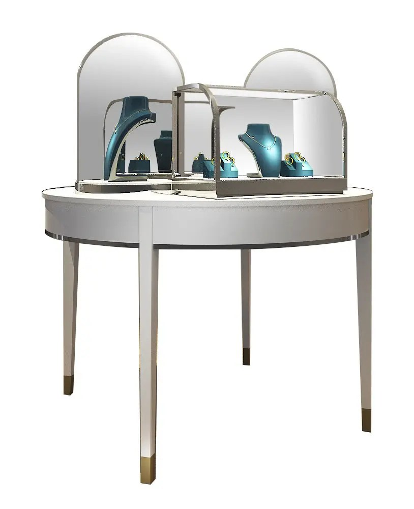 Jewelry Showcases For Sale : jewelry, showcases, Jewelry, Display, Table, Stand, Countertop, Cases, UniqueKiosk