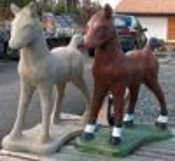 concrete animal statues unique