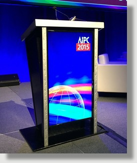Uniquely DC Lectern  Podium Rentals for Stages and Events