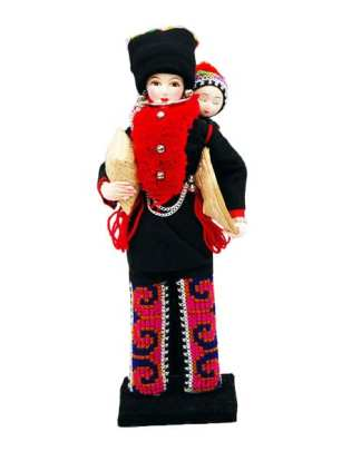 Hill Tribe Dolls Yao or Mien