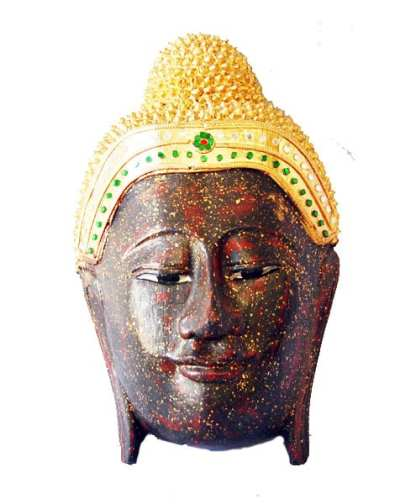 Carved Buddha Face