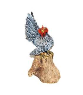 Rooster on Log