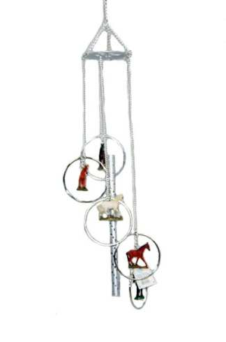 Wind Chime Horse Theme
