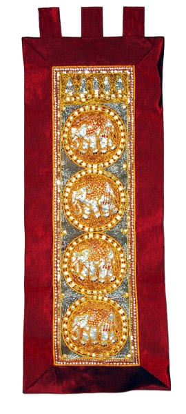 Kalaga-Tapestry-Elephant Brown