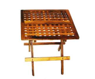 Teak wood Side Table Folding