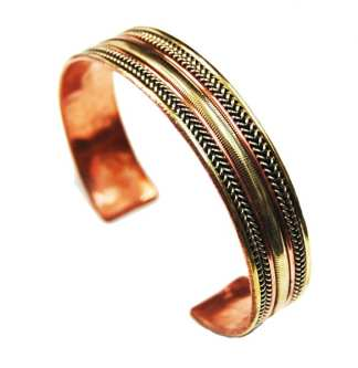 Copper Power Bracelet 3 metals