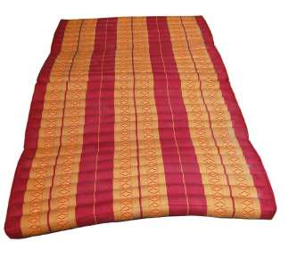 Mattress Four Fold Red Orange