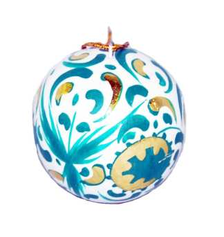 Hand Painted Tree Ornament