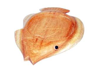 Wood Fish Drink Coaster