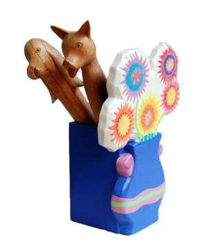 Flower Pot Pencil-Pen holder