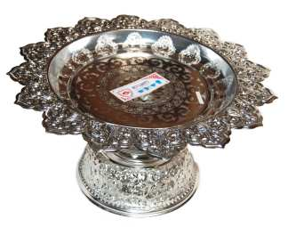Silver Finish Serving Tray-16