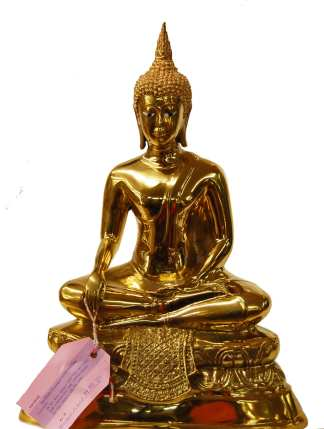 Brass Buddha Earth-10