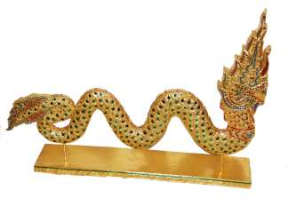 Gold Leaf Serpent-20