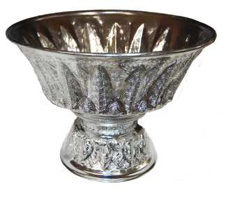 Silver Finish Serving Bowl-15