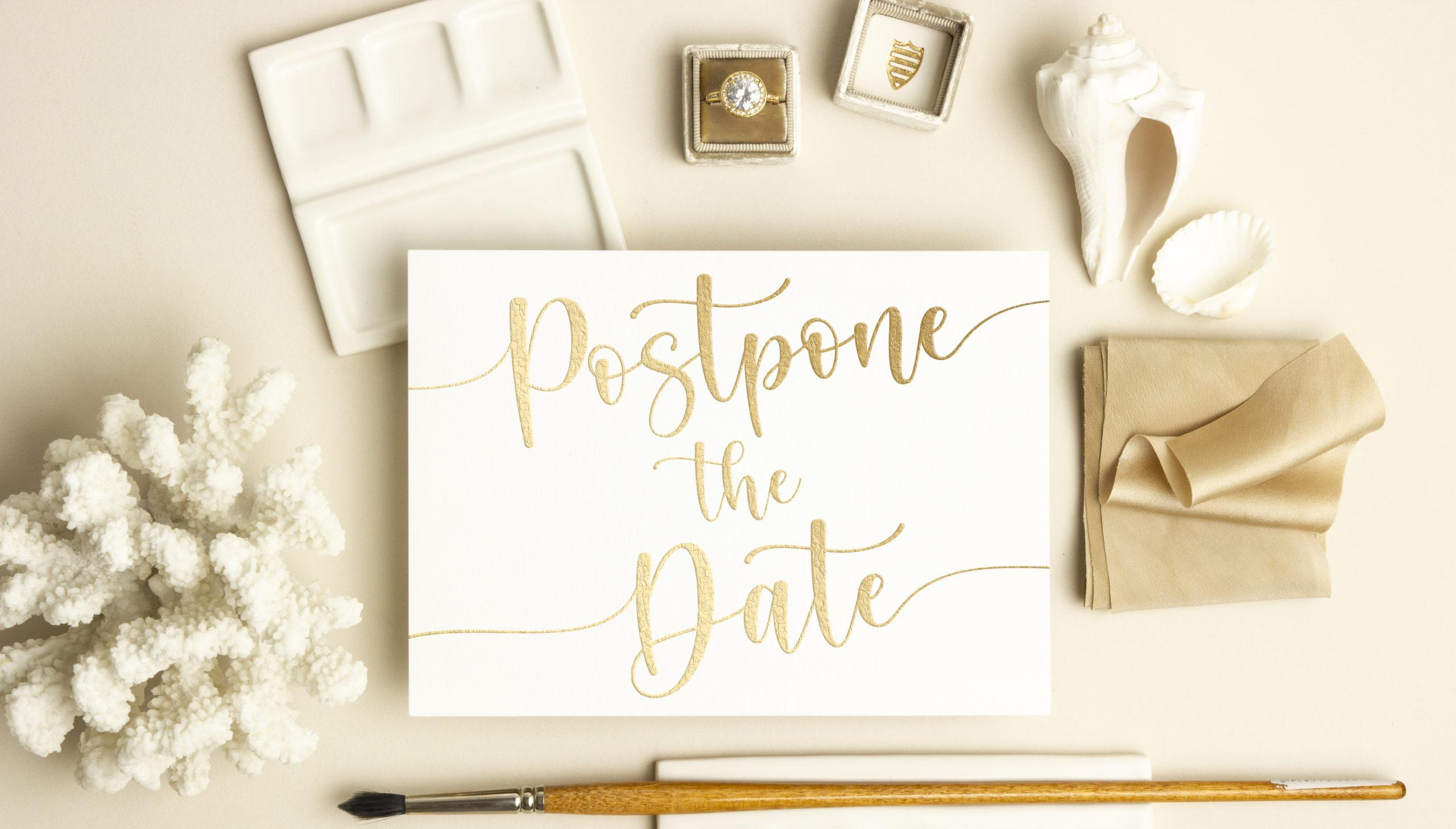 Postpone the Date