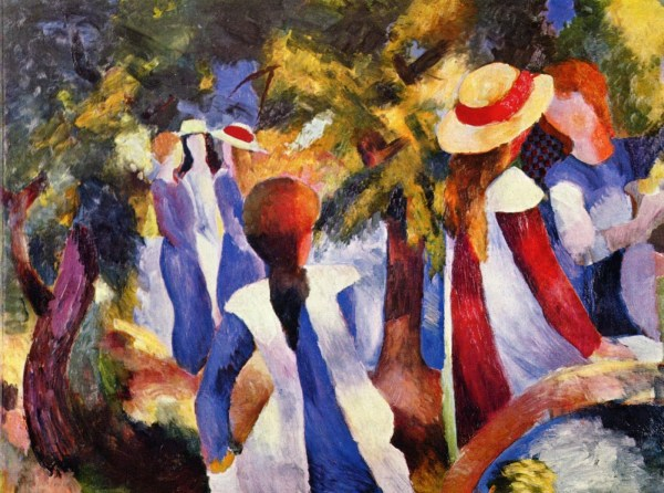 Final Sova Project Auguste Macke Expressionism Uniquely Untitled