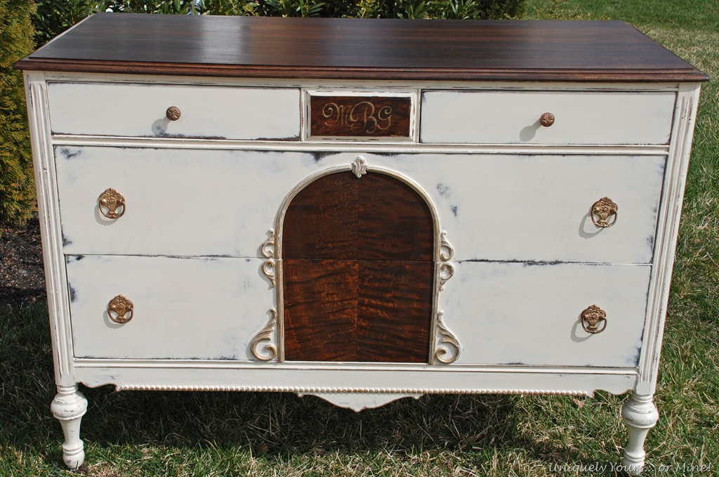 Refinished dresser  Uniquely Yours or Mine