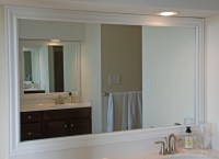 Framing Bathroom Mirrors the Hard Way  Uniquely Yours or ...