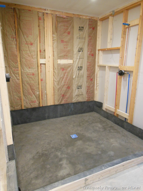It is amazing what sheetrock can do! (Bath & Closet, part