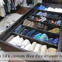 DIY Custom Built Organizer for our Ikea Pax Wardrobe