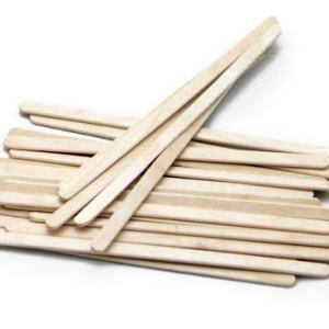 Wrapped Wooden Coffee Stirrers