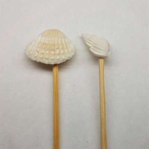 "4.5"" Bamboo Shell Picks - 2 Varieties"