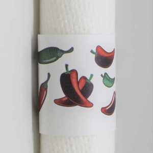 Napkin Bands - Mexican Themed (Stock)