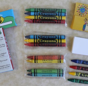 Crayons (Triangle and Round options)