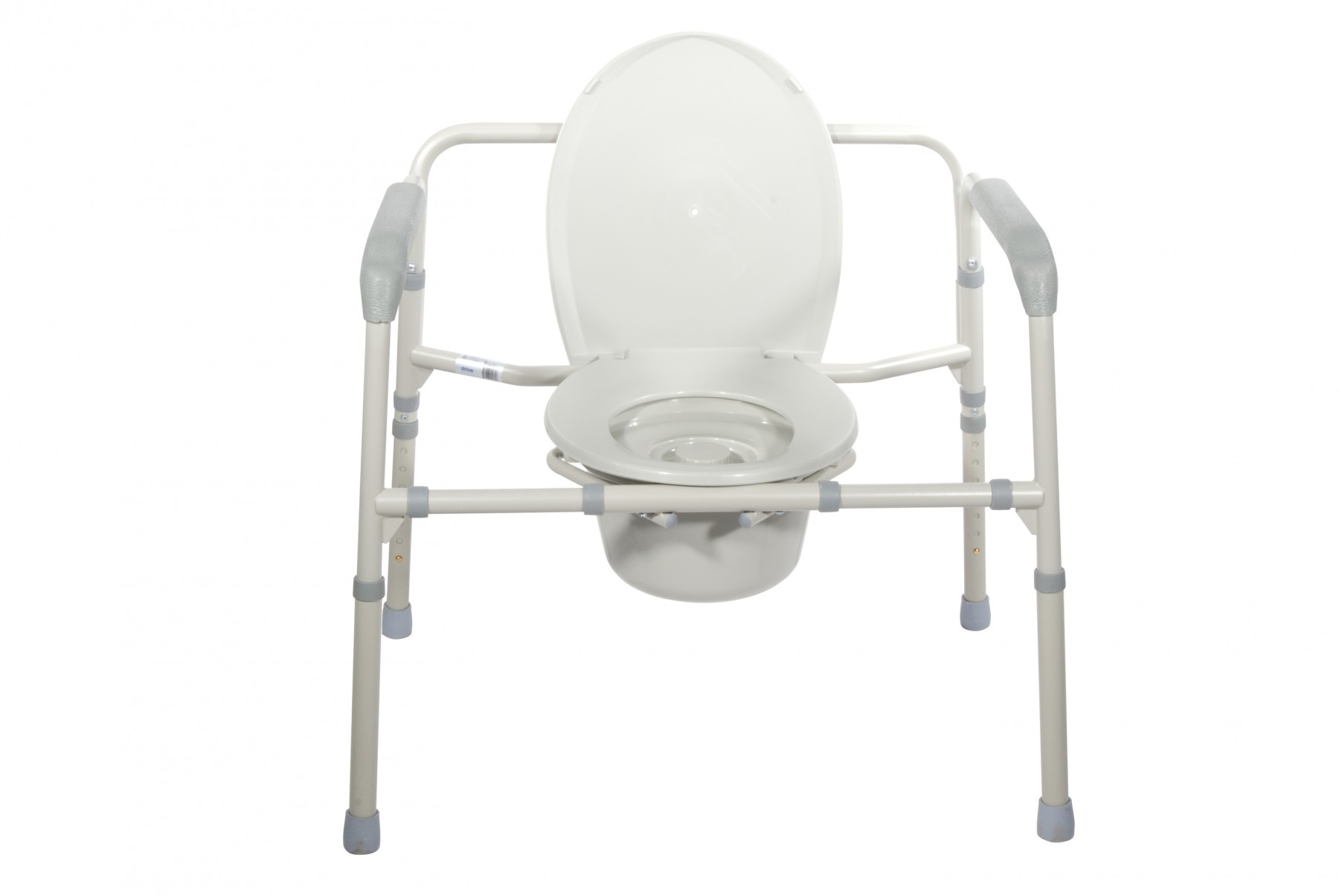 Bedside Commode Chair Drive Medical Heavy Duty Bariatric Folding Bedside Commode