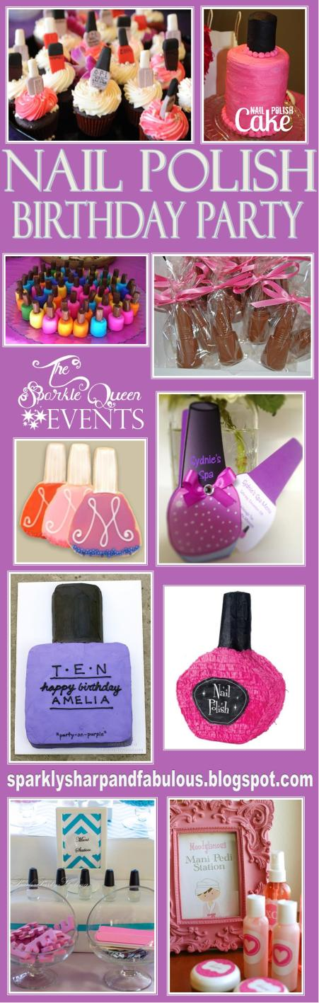 Nail Polish Themed Birthday Party