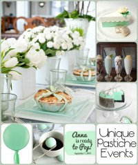 Mint and White Baby Shower Ideas | Unique Pastiche Events