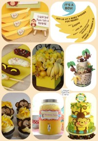 2016  Year of the Monkey.. and BANANAS  Baby Shower ...