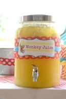 Monkey Juice Drink Dispenser – shared on The Howard Family Blog