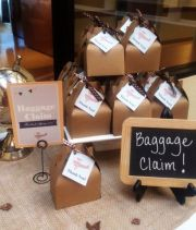 Baggage Claim and Airplane Baby Shower Instant Download Kit – made and sold by MKKMDesigns on Etsy