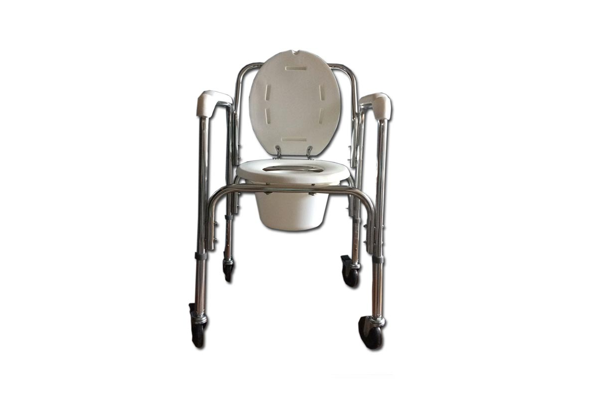 Bedside Commode Chair Adjustable Bedside Commode Chair With Castor Wheels Ly2004 A