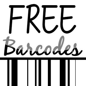 free UPC and ean barcode