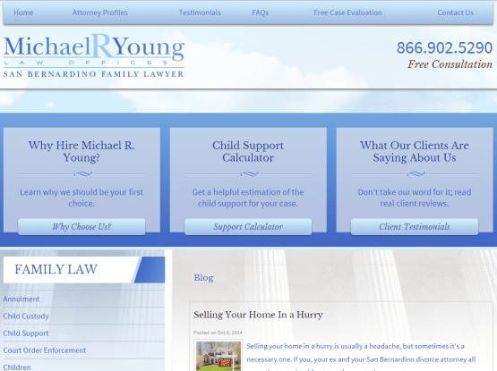 Blog Posts for a Divorce Lawyer
