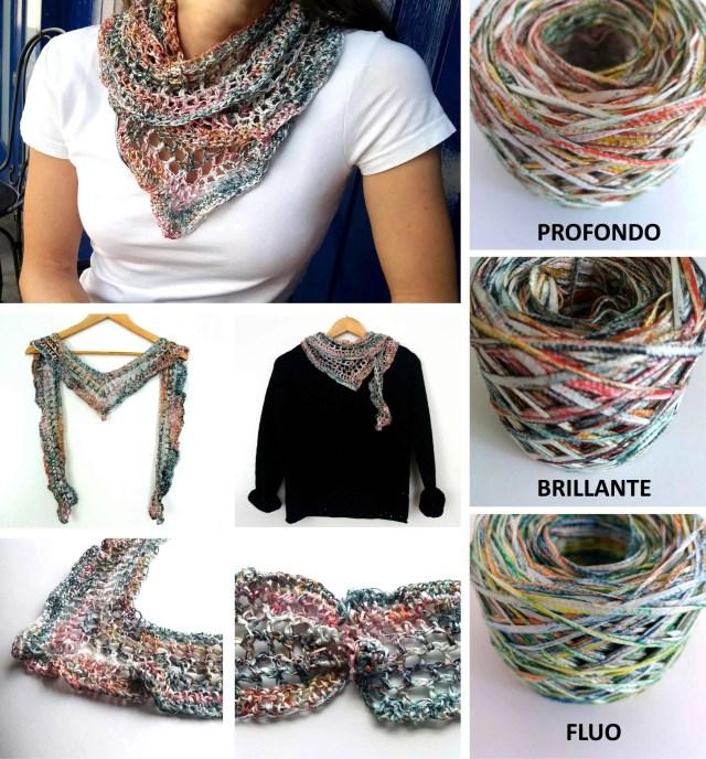 Crochet Scarf Tutorial · The Flora Little Scarf