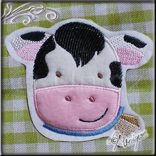 Kuh - Serie Muuh, Stickdatei Bauernhoftiere