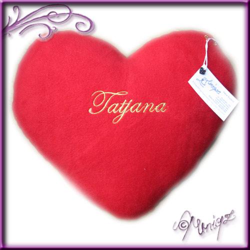 Valentinstag - Kuschelherz mit Namen