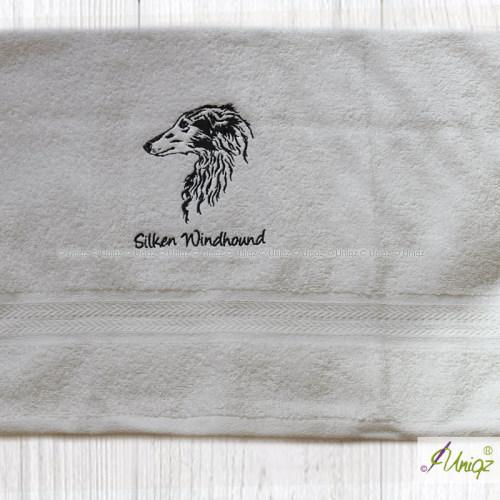 Silken Windhound Stickerei
